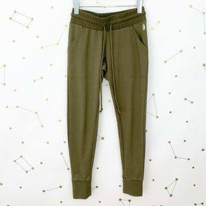 Free People • Movement Green Skinny Jogger Pants
